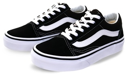 Vans Black Kids Old Skool Shoes