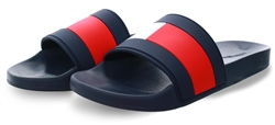 Hilfiger Denim Navy Essential Flag Sandals