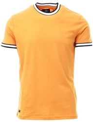Threadbare Yellow Danny Short Sleeve T-Shirt
