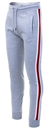 Threadbare Grey Punta Side Tape Jogger