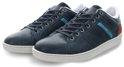 Bull Boxer Navy Nabo Lace Up Trainer