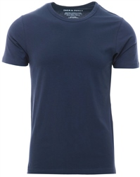 Navy Blue Basic O-Neck Regular Fit T-Shirt by Jack & Jones