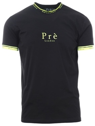 Pre London Black / Neon Power Short Sleeve T-Shirt