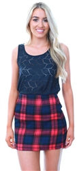 Jdy Navy Lace Sleeveless Vest Top