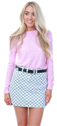Jdy Lilac Sachet Detailed Knitted Pullover