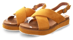 Refresh Panama Open Toe Cross Over Sandal