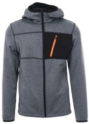 Jack & Jones Lt Grey Sona Fleece Jacket
