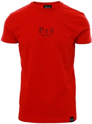 Pre London Barbados Red Signature Core T-Shirt