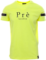 Pre London Neon Yellow Eclipse Tape T-Shirt