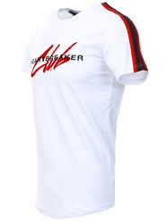 Heartbreaker Club White Yatch Side Tape T-Shirt