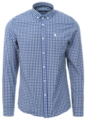 Alex & Turner Blue Check Button Up Shirt