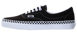 Vans Black Check Foxing Era Shoes