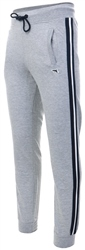 Le Shark Grey Fenton Side Tape Joggers