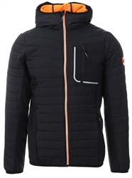 Superdry Black Convection Hybrid Jacket
