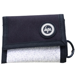 Hype Black Mono Speckle Wallet