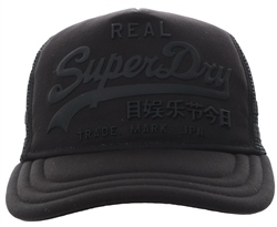 Superdry Black Premium Goods Cap