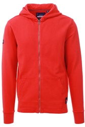 Superdry Red Dry Originals Zip Hoodie