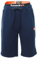 Superdry Navy Laundry Organic Cotton Sweat Shorts