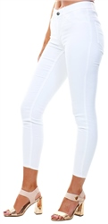 Vila Optic Snow Vicommit Skinny Fit Jeans