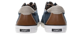Mustang Navy Canvas Lace Up Shoe