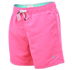 Jack Wills Bright Pink Blakeshall Mid-Length Swim Short
