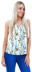 Veromoda Snow White Simple Betty Sleeveless Top