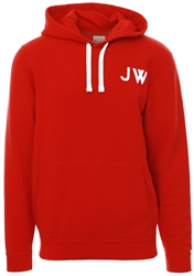 Jack Wills Red Thurlby Popover Hoody