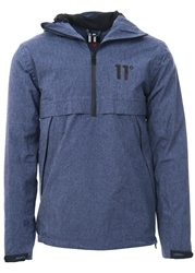 11degrees Chambury Blue Hurricane Jacket