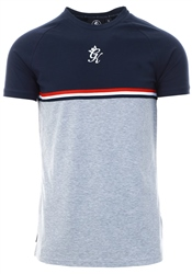 Gym King Navy Nights/Grey Marl Gilchrist T-Shirt