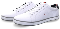 Tommy Jeans White Arlow Lace Up Trainer