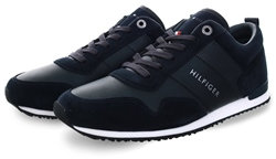 Hilfiger Denim Midnight Iconic Lace-Up Trainers