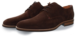 Hilfiger Denim Coffee Bean Essential Suede Shoe