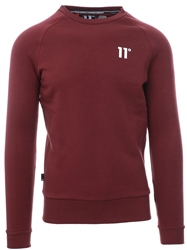 11degrees Burgandy Core Sweatshirt