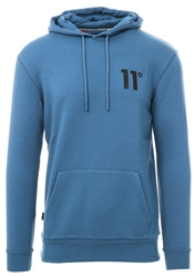 11degrees Blue Marlin Core Pull Over Hoodie