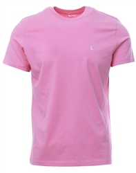 Jack Wills Pink Sandleford Short Sleeve T-Shirt