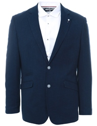 Cavani Navy Miami Slim Fit Blazer