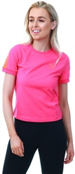Puma Fuchsia Purple Classics Tight T7 Women's Tee