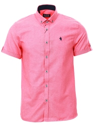 Alex & Turner Coral Short Sleeve Shirt