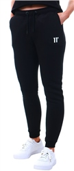 11degrees Black Core Joggers