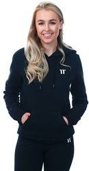 11degrees Black Core Pull Over Hoodie