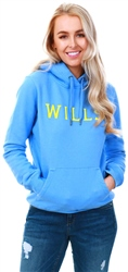 Jack Wills Blue Ainsdale Wills Pop Over Hoodie