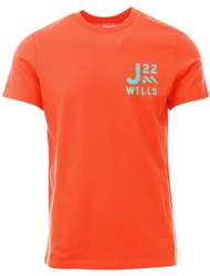 Jack Wills Orange Barford T-Shirt