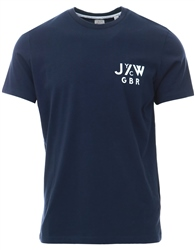 Jack Wills Navy Treaton Short Sleevet-Shirt