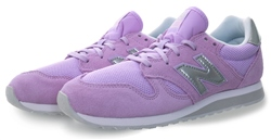 New Balance Violet Glo With White 520 Trainer