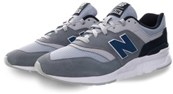 New Balance Grey 997h Lace Up Trainer
