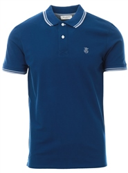 Selected Navy Short Sleeve Polo Shirt
