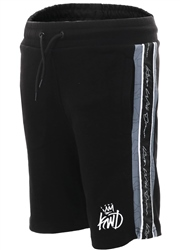 cec2fcef8f Kings Will Dream Black Newland Side Panel Shorts