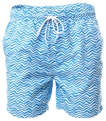 Threadbare Blue Formby Swim Shorts