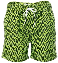 Threadbare Lime Formby Swim Shorts