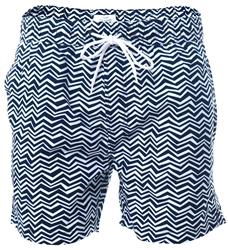 Threadbare Navy Formby Swim Shorts